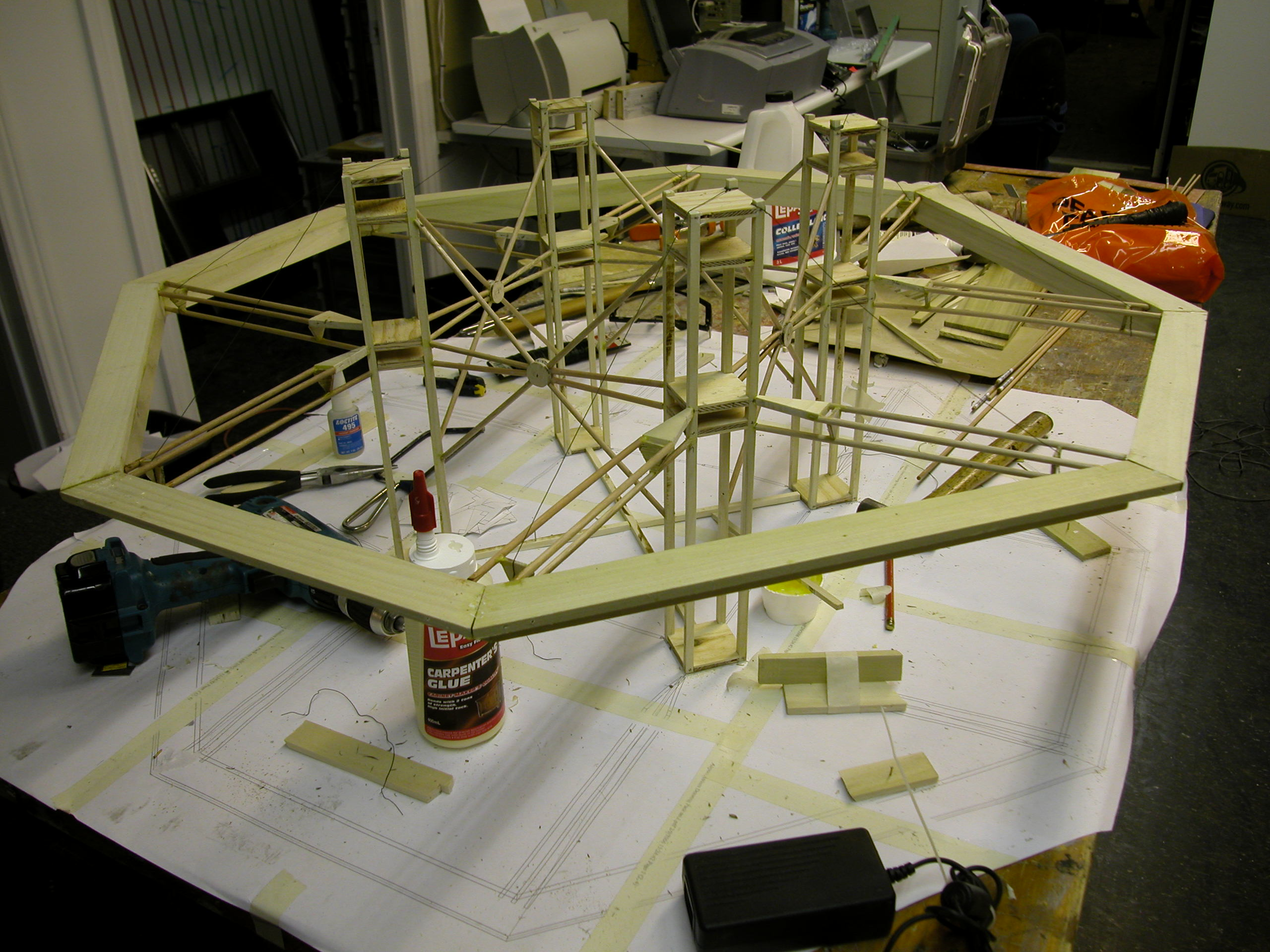 Barbados Atrium Model Making