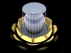 Rendering Lotus Fountain