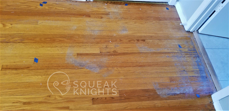 hardwood needs refinishing