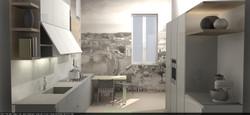Cucina in Kerlite