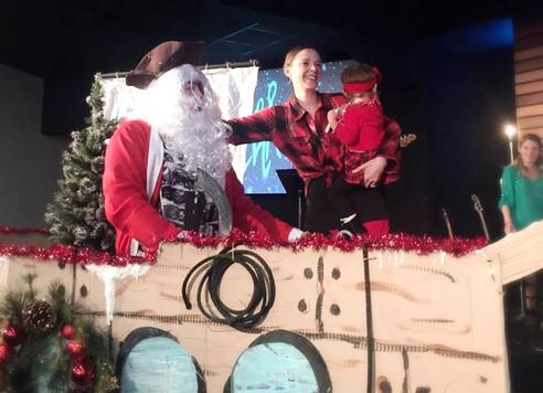Pirate Santa to the Rescue!