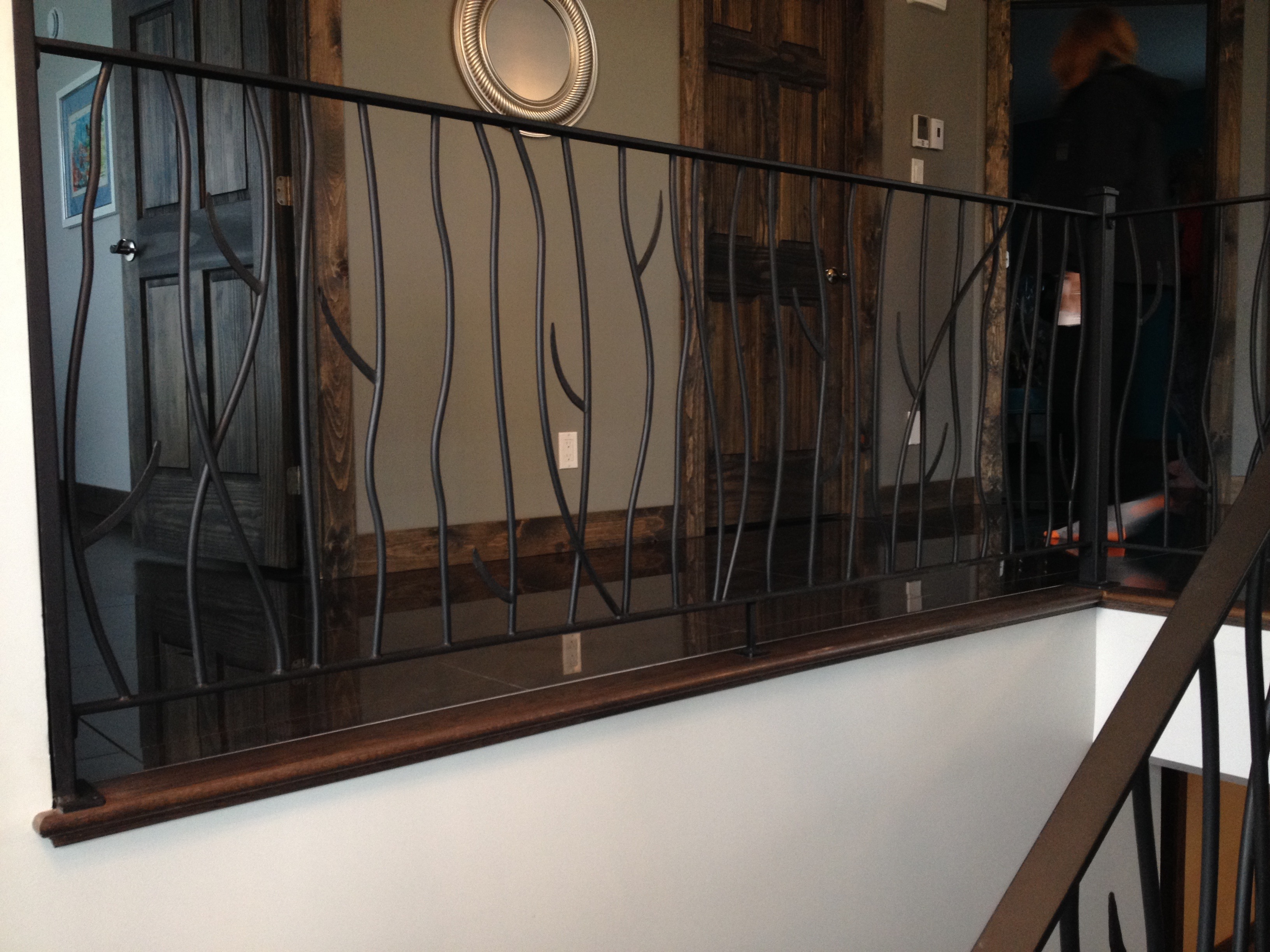 rampe style contemporain