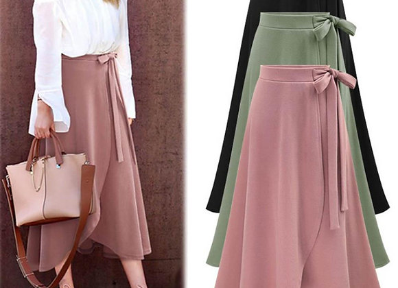 Asymmetry Split Long Skirt Summer  Skirts Women
