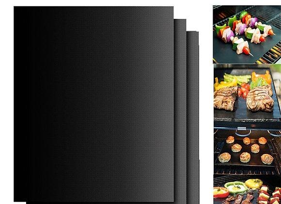 3pcs Reusable BBQ Grill Mat Portable Outdoor Picnic Cooking Non Stick Gri