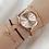 Thumbnail: 4PCS Women Watches Luxury Wrist Watch Relogio Feminino Clock for Women Milanese