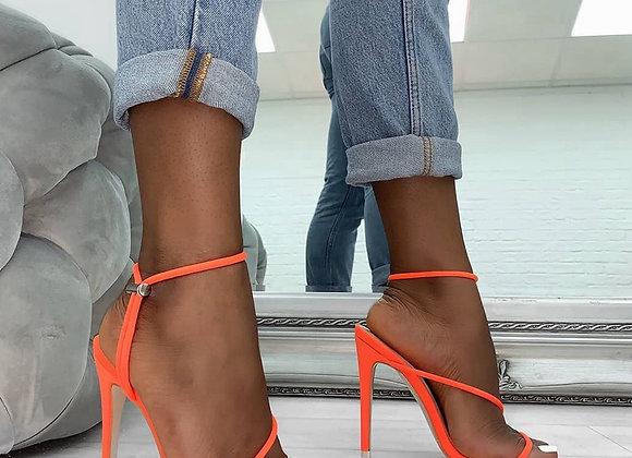 11CM Summer Gladiator Platform Pump Shoes Women Peep Toe High Heel Shoes