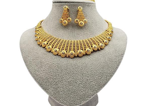 Dubai Fashion Gold Color Jewelry Sets African Bridal