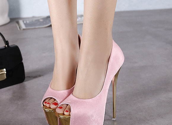 Aneikeh 2019 Brand Shoes Woman 16CM High Heels Women Pumps Stiletto Thin Heel