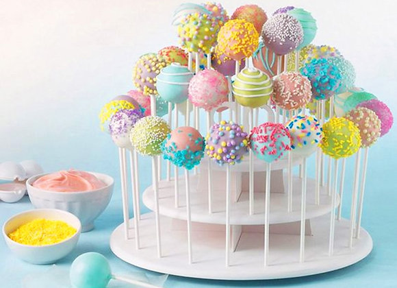 3 Tiers Lollipop Cake Stand Wedding Decoration Table Donut Wall Lolly Disp