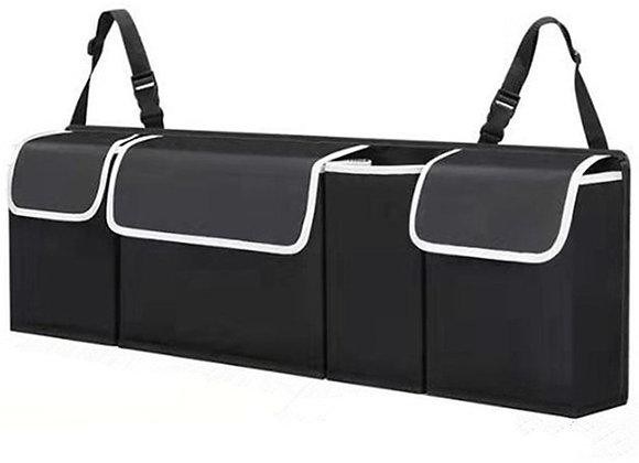 Adjustable Car Trunk Organizer Backseat Storage Bag High Capacity Multi-Use Oxfo