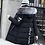 Thumbnail: Winter Women Hooded Coat Fur Collar Thick Warm Long Jacket Female Plus Size