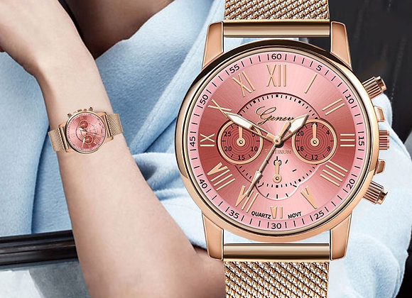 Geneva Women Watches Fashion Classic Luxury Analog Quartz WristWatches Relogio