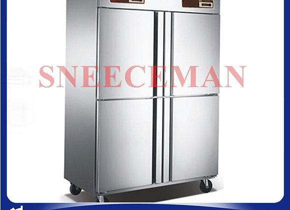 Commercial Four-Door Commercial Kitchen Freezer, Console, Freezer, Kitchen Refri