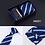 Thumbnail: 2020 Fashion 8cm Wide Tie Sets Black/Blue/Red Men's Neck Tie Handkerchiefs