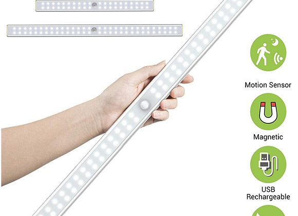 19/30/40cm USB Rechargeable Motion Sensor Led Closet Lights for Bedroom Mag