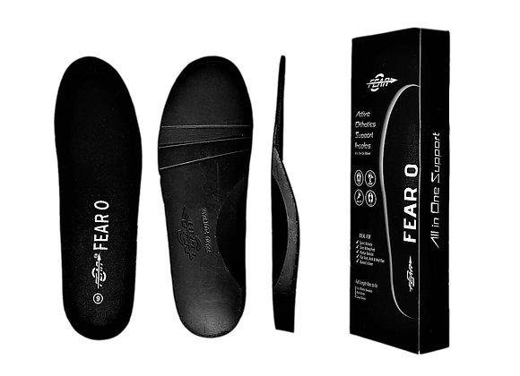 Fear0 NJ Heavy Duty Arch Support Flat Feet Orthotic Orthopedic Inserts Insoles
