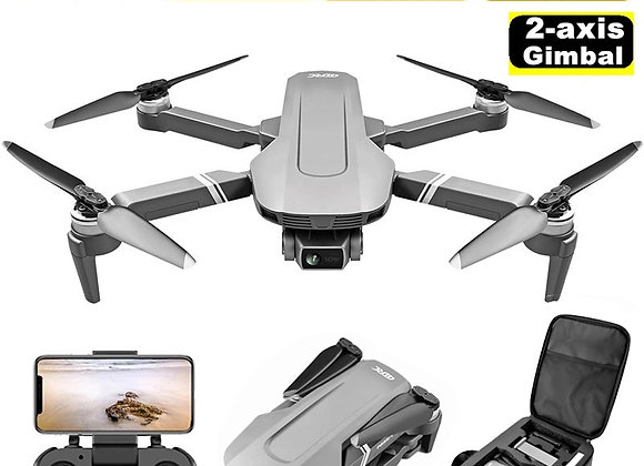 F4 GPS Drone With 5G WiFi FPV 2-Axis Gimbal 4K Dual Camera Profesional Brushle