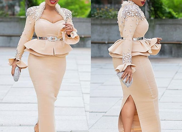 African Dresses for Women Ropa Mujer Diamonds Robe Africaine Femme 2021 Ankara