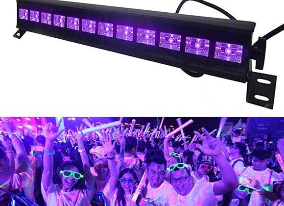 12 LED Disco UV Violet Black Lights DJ 36W Par Lamp UV for Party Christmas Bar
