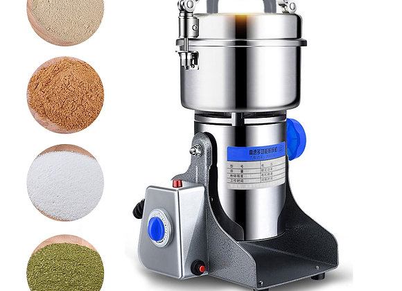 800g 220V Swing Type Grains Herbal Powder Miller Dry Food Grinder Machine High