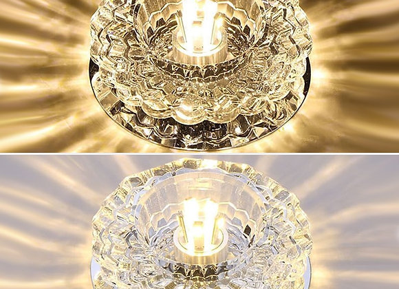 Downlight SMD 3W 5W LED Downlights Crystal Lamp Ceiling Spot Light With LED Driv