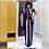 Thumbnail: African Dresses for Women Dashiki Stripe Patchwok Maxi African Dress Robe Boubou