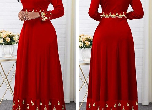 2020 Gown Plus Size Dress Up to 5XL
