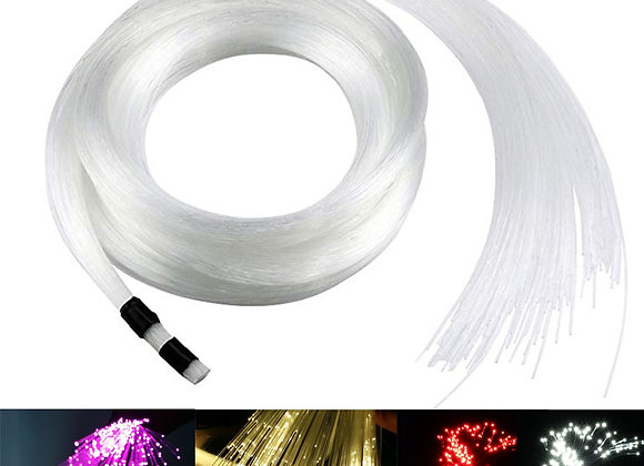 End Glow Fiber Optic Light 0.75mm PMMA  Optical Fiber Cable for All Kind