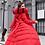 Thumbnail: Fashion Winter Jacket Women Big Fur Belt Hooded Thick Down Parkas
