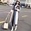 Thumbnail: Elegant Long Woolen Coat Women Autumn Winter Plus Size Wool Overcoat Female