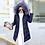 Thumbnail: Big Fur Winter Coat Female Jacket New 2020 Hooded Parka Warm Winter Jacket