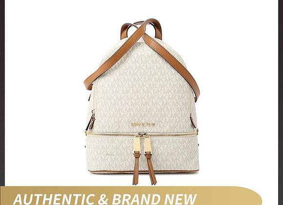 Authentic Original & Brand New Michael Kors Women's Bag MK Rhea Zip MD Backpack