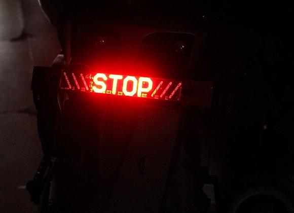 1pc LED Motorcycle Light Flash STOP Moto Indicator Lamp Brake Turn Signal Drivin