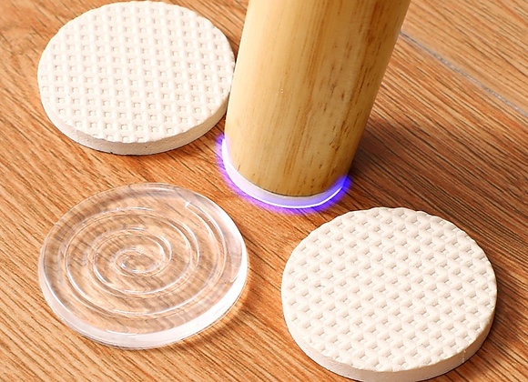 160 PCS Self Adhesive Furniture Leg Feet Anti Slip Pads Cabinet Anti-Vibration