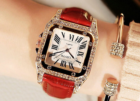 2020 Hot LSVTR Luxury Women Watches Top Brand Classic Fashion Square Quartz