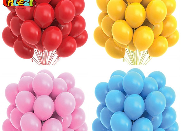 10/20pcs Gold Black Pink Latex Balloons Birthday Party Decorations Adult