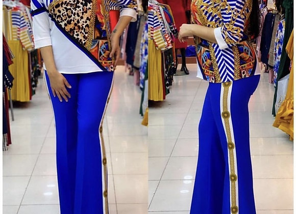 African Clothes 2 Two Piece Set Women Spring Winter 2021 Africa Clothing Plus