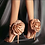 Thumbnail: Flower Shoes Woman European and American-Style Big Flower Sandals Shoes Evening