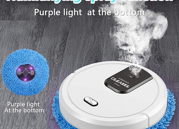 3 in 1 Intelligent Sweeping Robot Vacuum Cleaner Rechargeable Mopping Vacuum C