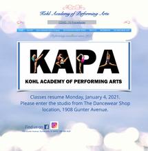 Kohl Academy CLBINC coneccted custom dom