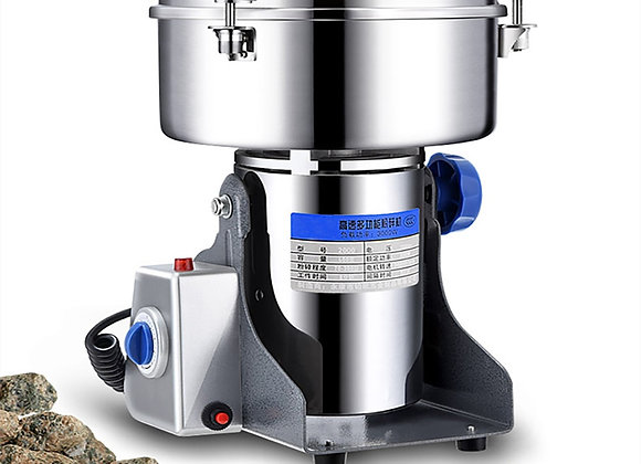 2000G Grinder Machine Grains Electric Herbal Coffee Powder Miller Dry Food High