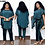 Thumbnail: African Dresses for Women 3 Piece Set Dashiki Sequined Top Pants African Clothes