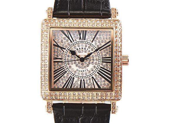 Fashion Square Watch Designer Women Watches With Rhinestone Quartz Fully Diamond