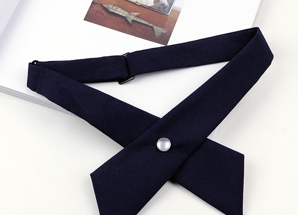 Chic Graceful Jewelry Fastener Bowtie Adjustable Detachable Collars Shirt
