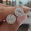 Thumbnail: 2021 Fashion Luxury 925 Sterling Silver 6mm Small Zircon Stud Earing Earrings