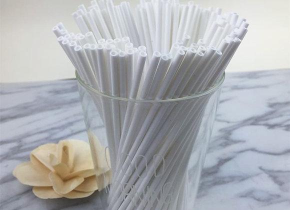 100pcs Safe Plastic Lollipop Stick Cake Pop Sucker Sticks for Chocolate Sugar