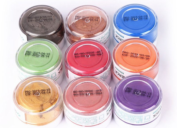 Flash Glitter Powder Baked Edible Pigments Sweet Sugar Floral Chocolate Lipsti