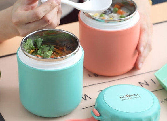 430ml Food Thermal Jar Insulated Soup Thermos Containers Stainless
