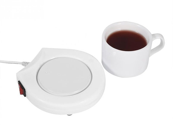 110V Electric Powered Drink Cup Warmer Pad Plate for Office and Home Use Cale