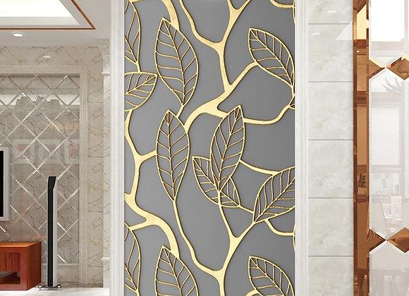 2pcs/Set Tree Leaves DIY Door Wall Stickers Home Decor Bedroom Porch Art Mural S